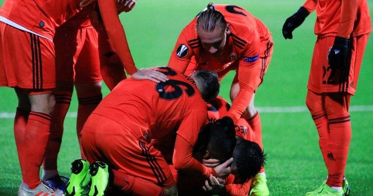 Beşiktaş'tan Norveç'te muhteşem geri dönüş