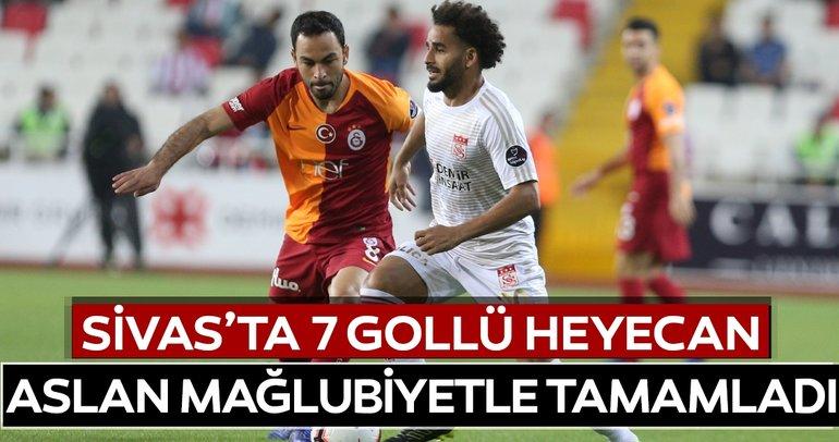 Şampiyon Galatasaray sezonu mağlubiyetle tamamladı