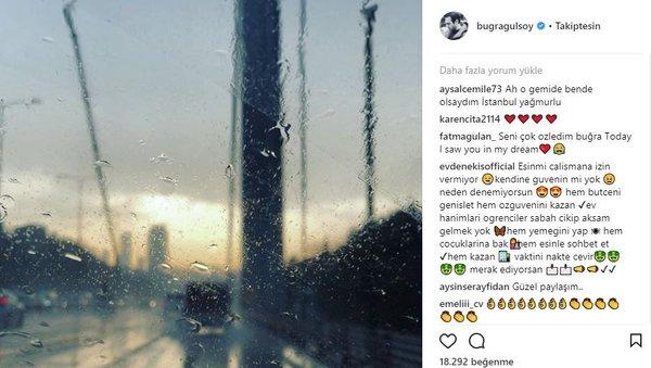 Ünlü isimlerin Instagram paylaşımları (28.03.2018)