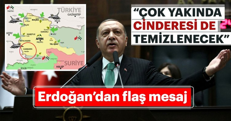 Cumhurbaşkanı Erdoğan'dan flaş Cinderesi açıklaması!