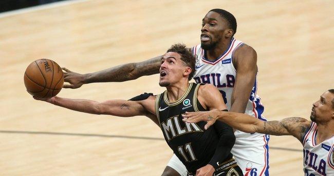 NBA'de Clippers-Jazz ve Hawks-76ers serileri 2-2 eşitlendi