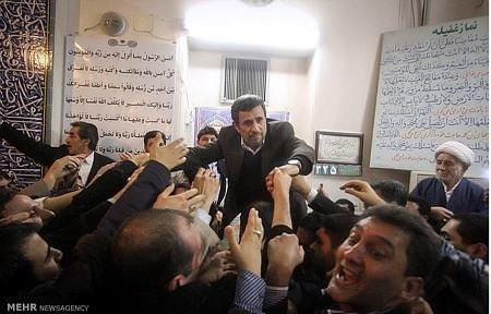 Ahmedinejad'ın zor anları