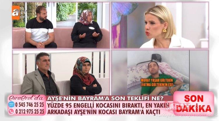 Esra Erol'un canlı yayınında yumruklu kavga! Bayram'ın şok sözleri kavgayı ateşledi!