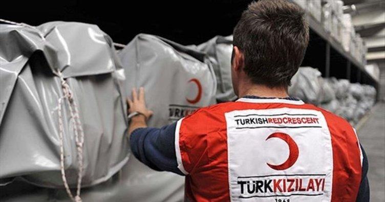 Türk Kızılay'dan coronavirüs salgınıyla mücadeleye tam destek