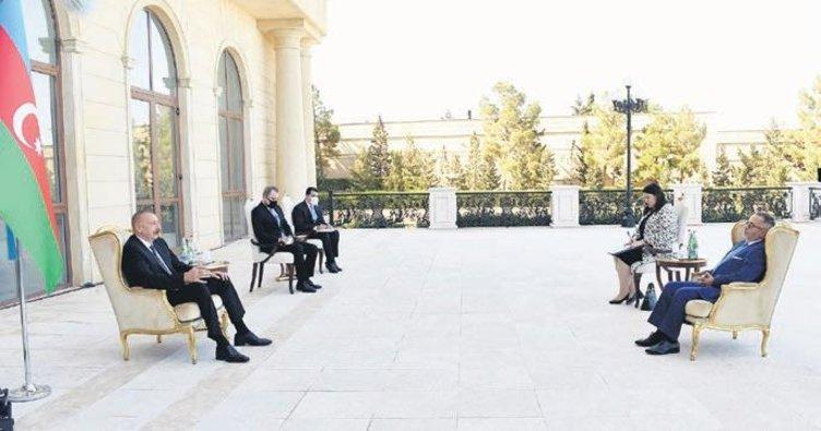 Aliyev: Türkiye'yi tereddütsüz destekliyoruz