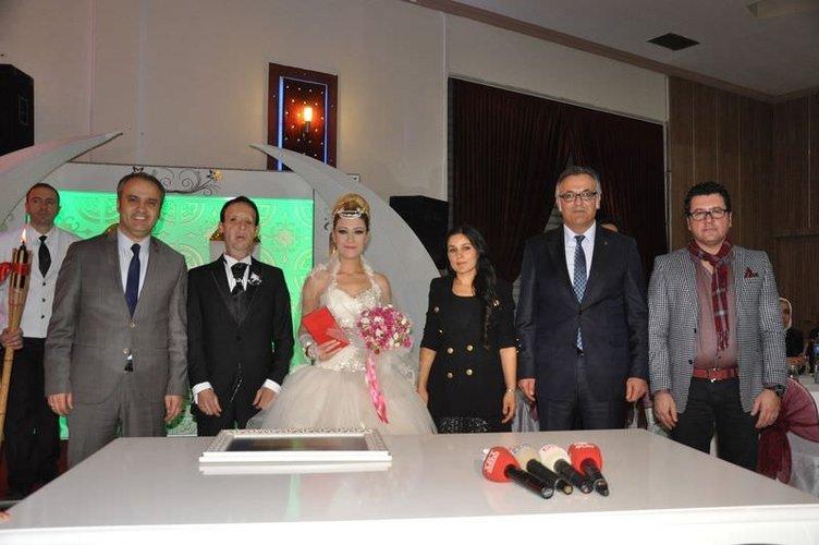 Türkiye'nin 5. yüz nakli yapılan Sert, dünyaevine girdi