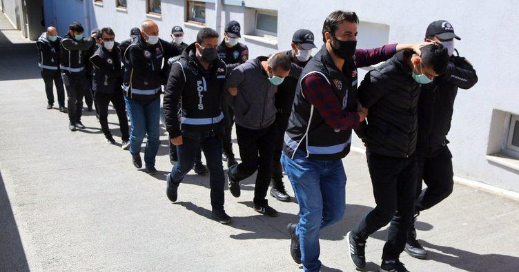 Hijyen operasyonu: 50 tutuklama