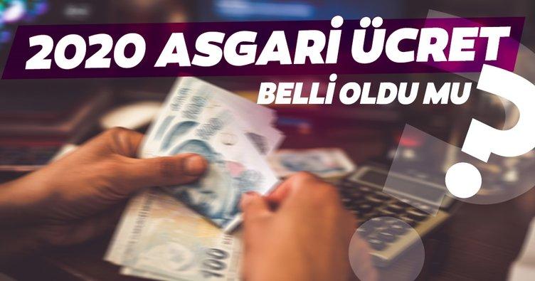 Asgari ücret ne kadar olacak? 2020 Asgari ücret ve Agi zammı ne zaman, hangi tarihte belli olacak?