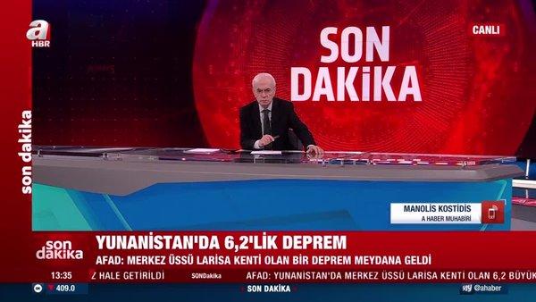 SON DAKİKA: Yunanistan'da 6.2'lik deprem   Video