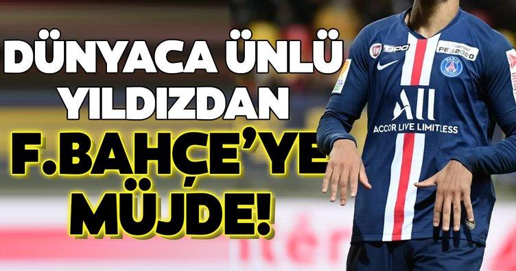 Dünyaca ünlü yıldızdan Fenerbahçe'ye müjde!
