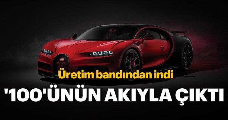 100. Bugatti Chiron 2.85 milyon Euro'ya satıldı!