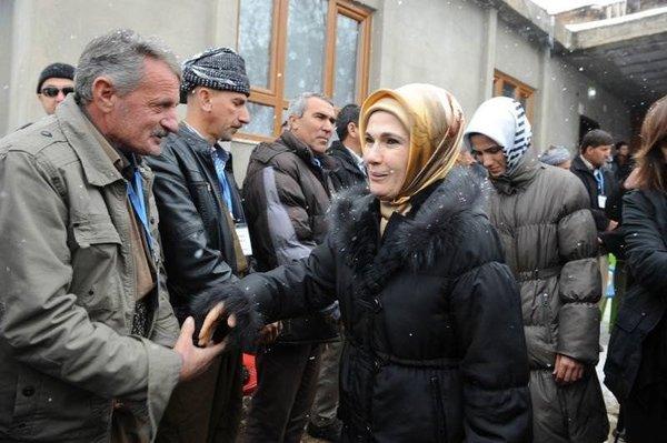 Emine Erdoğan Uludere'de