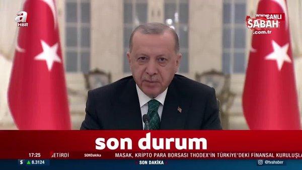 Son dakika: Başkan Erdoğan'dan İklim Liderler Zirvesi'nde önemli açıklamalar | Video
