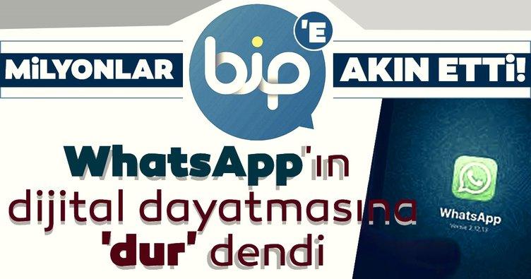 Son dakika haberi: WhatsApp'ın sözleşme dayatmasına dur dendi! Milyonlar BİP'e akın etti