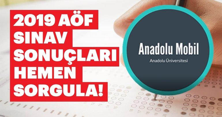 Anadolu Mobil ile AÖF sınav sonuçları nasıl sorgulanır? AÜ Açıköğretim 2019 AÖF sınav sonuçları açıklandı!