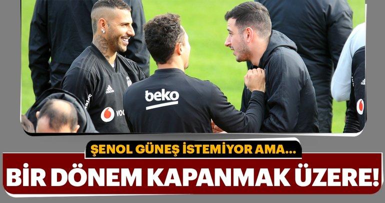 Şenol Güneş istemedi ama... Beşiktaş'ta bir dönem kapanıyor