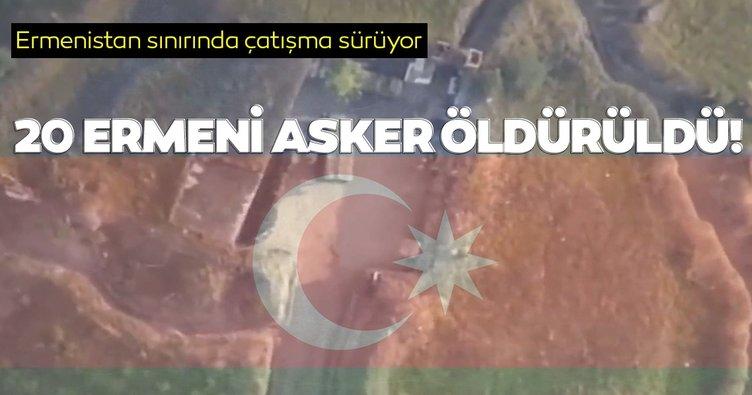 Ermenistan-Azerbaycan sınırındaki çatışmalar devam ediyor! 20 Ermeni askeri öldürüldü