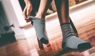 Çorabınız ayak bileğinizde iz bırakıyorsa dikkat!
