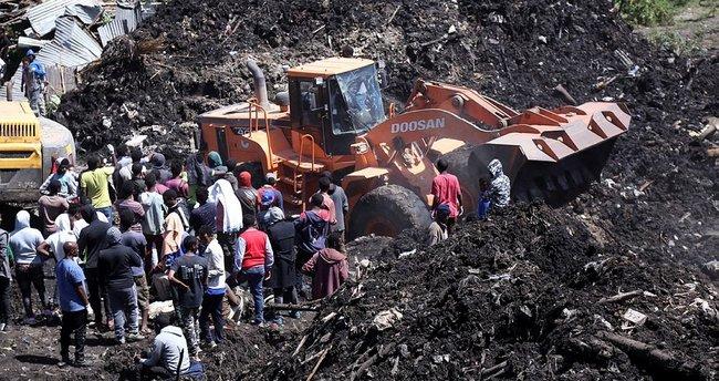 Etiyopya'da çöp depolama alanındaki ölü sayısı 113'e yükseldi