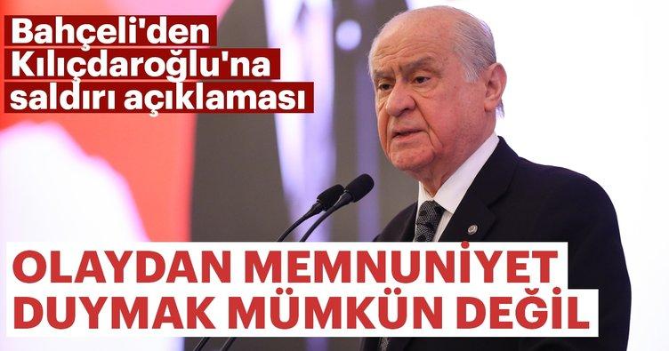 Bahçeli'den Kılıçdaroğlu'na saldırı açıklaması
