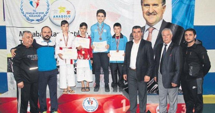 ANALİG karate grup birinciliği sona erdi