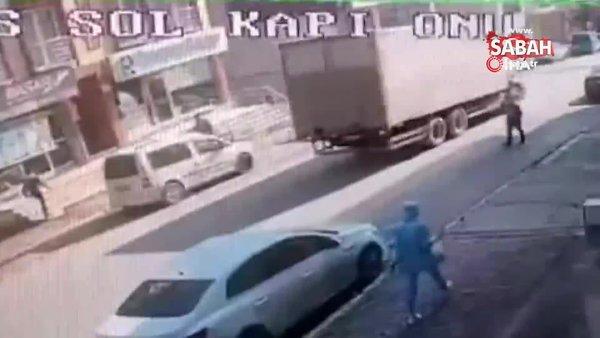 SON DAKİKA: İstanbul Ümraniye'de sokakta silahlı dehşet kamerada | Video