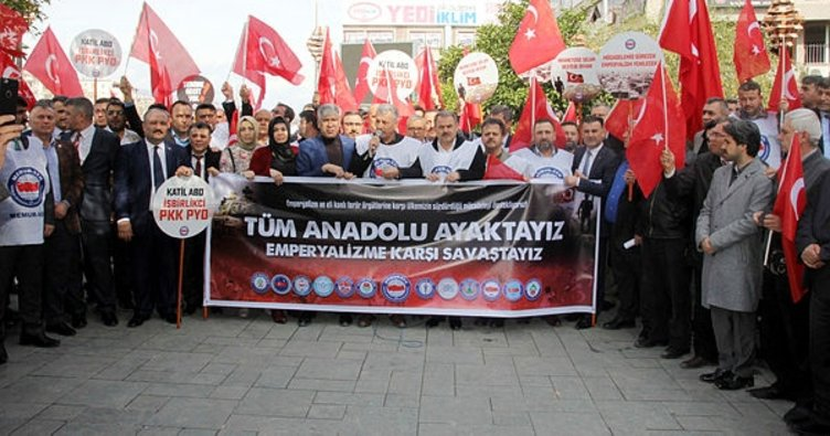Hataylı memurlardan Mehmetçiğe destek