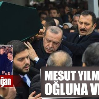 Mesut Yılmaz'ın oğlu Yavuz Yılmaz'a son veda...
