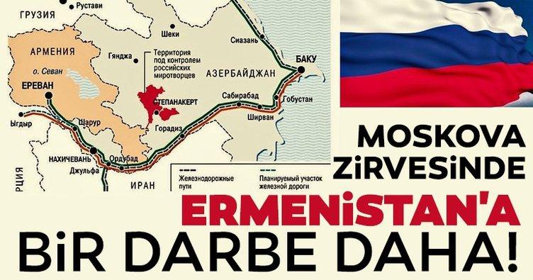 Son Dakika: Moskova zirvesinde Ermenistan'a bir darbe daha!