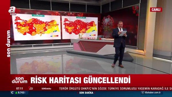 Yeni Koronavirüs Risk Haritası 30 Mart: Türkiye koronavirüs risk haritası ile düşük, orta, yüksek ve çok yüksek riskli iller neler?   Video