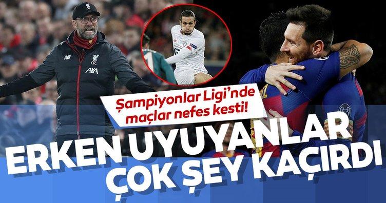 Şampiyonlar Ligi'nde müthiş gece! Ajax, Inter, Salzburg Barcelona, Messi, Liverpool, Yusuf Yazıcı ve diğerleri...
