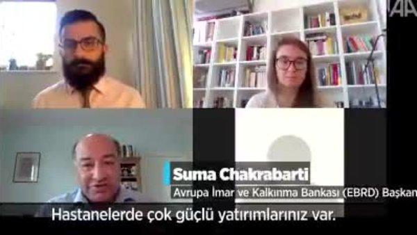 EBRD Başkanı Chakrabarti: Türkiye'de V şeklinde bir ekonomik iyileşme olacak | Video