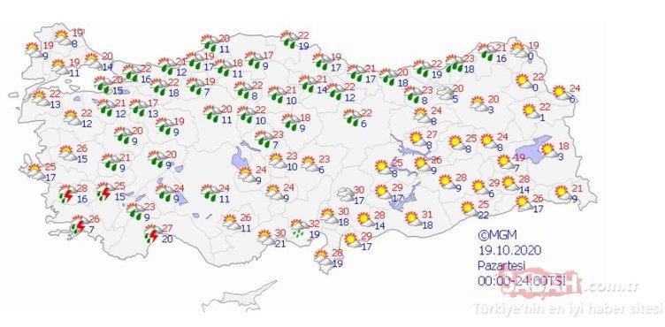 Meteoroloji'den son dakika sağanak yağış, fırtına ve hava durumu uyarısı geldi! Vatandaşlar dikkat