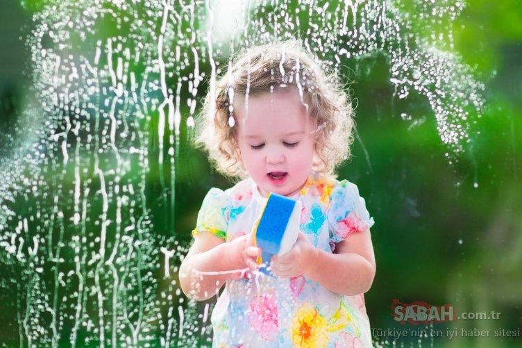 Çocuğunuz deterjan mı içti?