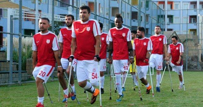 Ampute futboluna Türkiye ev sahipliği yapacak