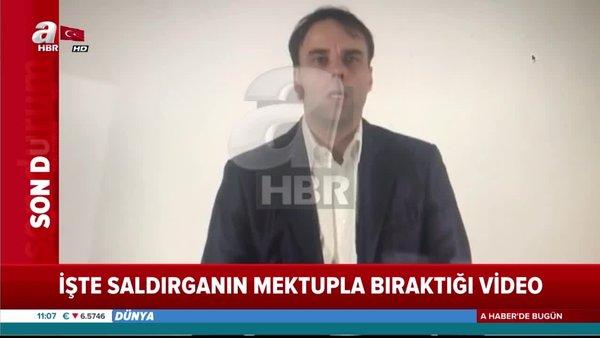 Katliam yapan Türk düşmanı ırkçı Alman Terörist'in nefret kustuğu skandal görüntüler ortaya çıktı | Video