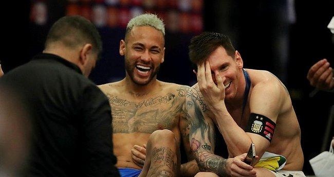 """Son dakika: Lionel Messi ve Neymar'ın o görüntüleri büyük tepki aldı! """"Timsah gözyaşları…"""""""