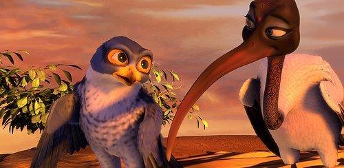 Kuşlar Şehrinde Macera filminden kareler