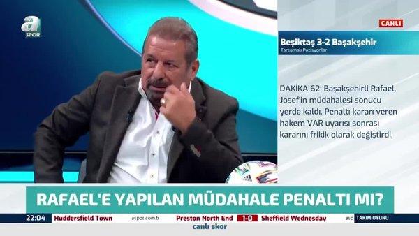Erman Toroğlu Beşiktaş - Başakşehir maçındaki penaltı beklenen pozisyonu değerlendirdi! Josef'in müdahalesi...