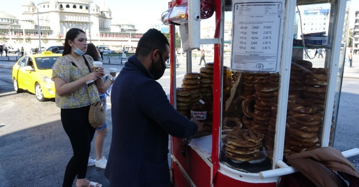 Son dakika: Taksim'de sembol olan simit tezgahları kaldırılıyor - Galeri - Yaşam
