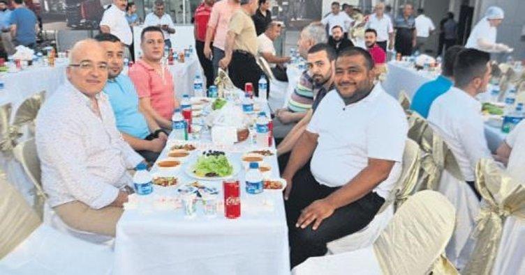 Hem tanıtım hem iftar