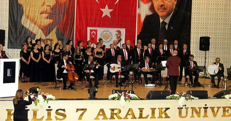 Kilis'te Türk Sanat Musikisi konseri