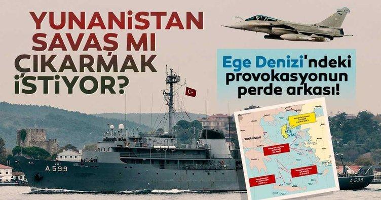 SON DAKİKA | Yunanistan savaş mı çıkarmak istiyor? Ege'deki provokasyonun perde arkası...