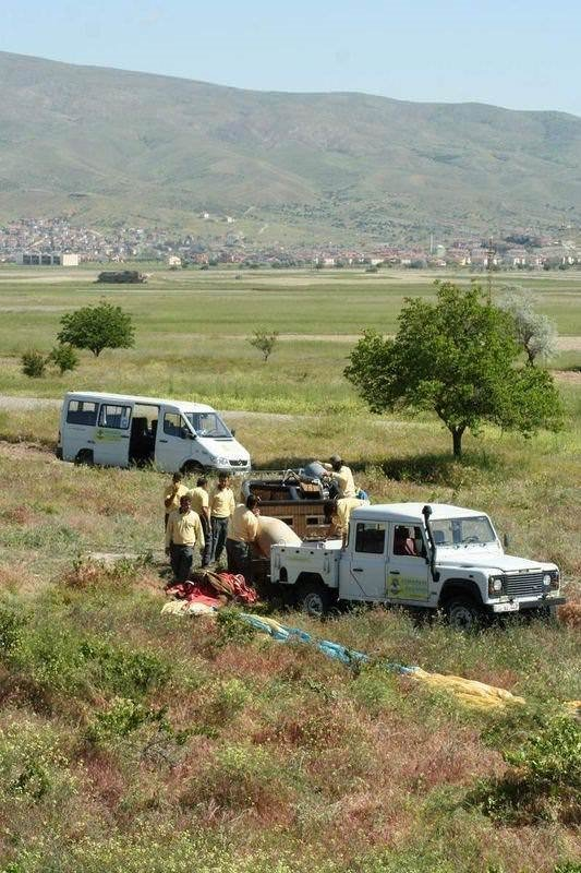 Nevşehir'de balon kazası