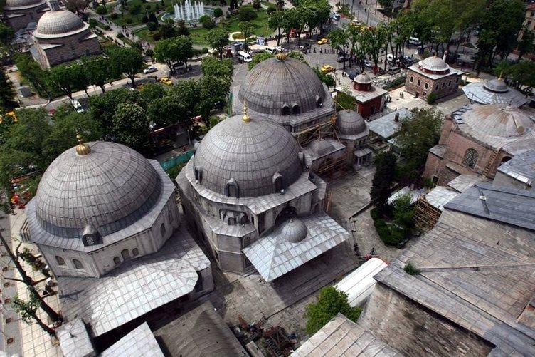 Ayasofya'nın bazı girilmeyen yerleri dahil özel fotoğrafları