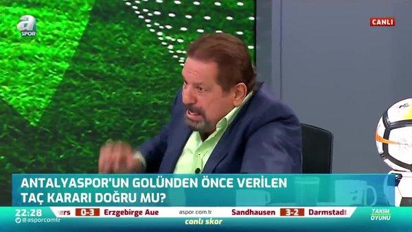 Erman Toroğlu: Antalyaspor'un golünden önce taç kararı doğru
