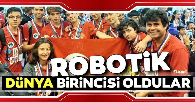 Türk robotik takımı dünya birincisi oldu