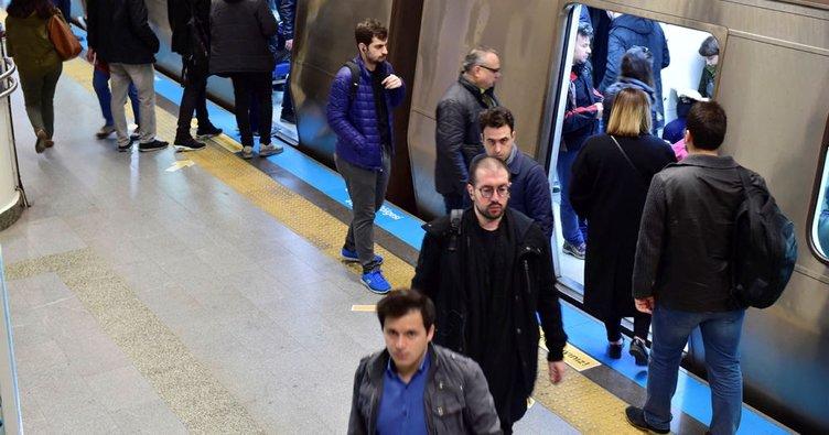 Marmaray'da yanlış alarm paniğe neden oldu