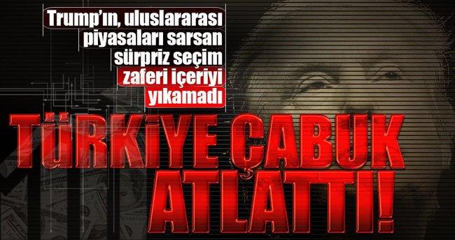Türkiye çabuk atlattı