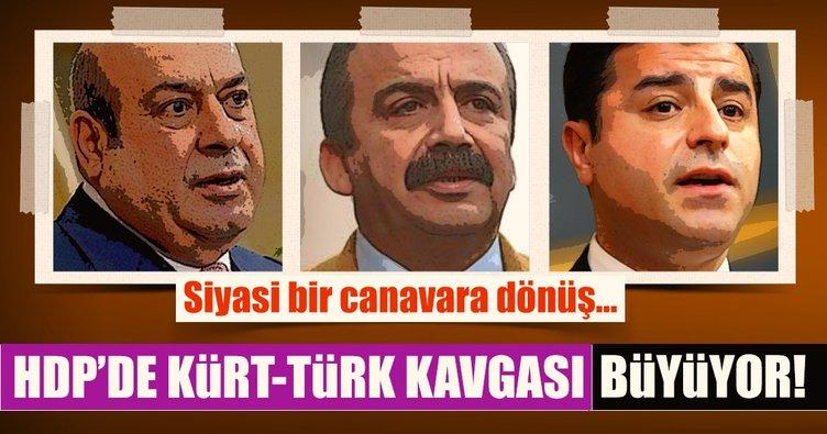 HDP'de Kürt-Türk kavgası büyüyor